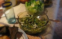 Fotografía de ensalada de nopal