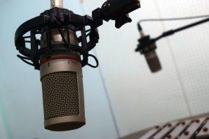 Micrófonos studio grabación del ICECU
